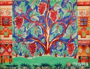 Эскиз-вариант декорации к балету И.Ф. Стравинского «Свадебка». 1915