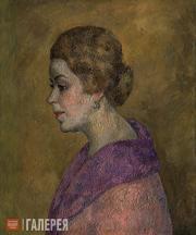 Falk Robert. Portrait of A.V. Azarkh-Granovskaya. 1926