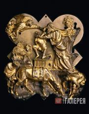 Филиппо Брунеллески (1377–1446). Жертвоприношение Исаака. 1401