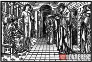 Edward Burne-Jones and William Morris. The Oracle