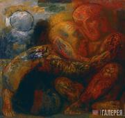 Возвращение блудного сына.  Из серии «Библейские эскизы». 2007