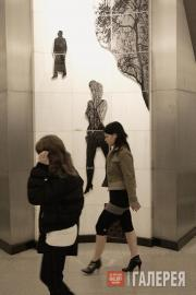 На станции метро «Сретенский бульвар»
