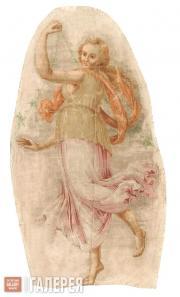 Ferrari Jacopo. Part of a plafond of the Theatre room