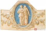 Unknown artist of the early 19th century. Frieze