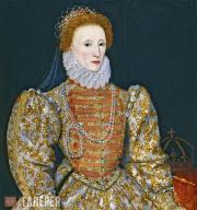 Unknown Netherlandish artist. Queen Elizabeth I. c. 1575