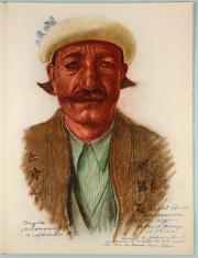 Яковлев Александр. Рисунок из альбома «Рисунки и картины, выполненные в экспедиц