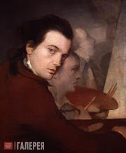 Barry James. Self-portrait. c. 1767
