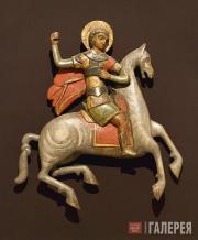 Неизвестный художник. Чудо Святого Георгия о Змие. Вторая половина XVI века