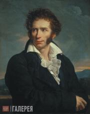 François-Xavier Fabre (1766-1837). Portrat of Ugo Foscolo. 1813