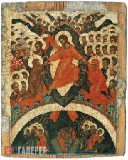 Неизвестный художник. Воскресение – Сошествие во ад. Первая половина XVI в.