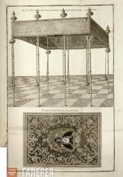Sokolov Ivan. No 25. Portable Canopy. Plafond of the Portable Canopy. 1743-1744