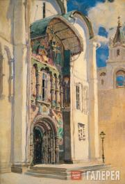 Polenov Vasily. Cathedral of the Dormition. South Gate. 1877