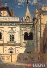 Polenov Vasily. Terem Palace Exterior. 1877