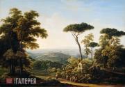 Matveyev Fyodor. Italian Landscape. 1819