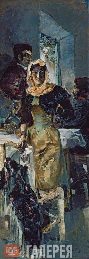 М.А.ВРУБЕЛЬ. Испания. 1894