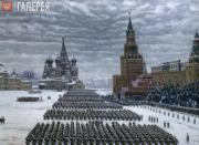 Юон Константин. Парад на Красной площади в Москве 7 ноября 1941 года. 1949