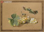 Tolstoy Fyodor. Grape. 1817
