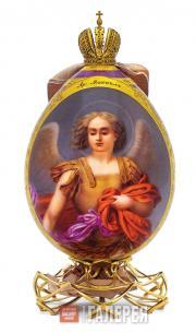 Яйцо пасхальное с надписью «Архангел Михаил»