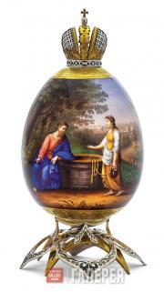 Яйцо пасхальное «Иисус Христос и самаритянка»