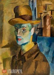 Falk Robert. Self-portrait. 1917
