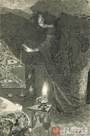 Врубель Михаил. Демон. Иллюстрация к поэме М.Ю. Лермонтова «Демон». 1890–1900 (?
