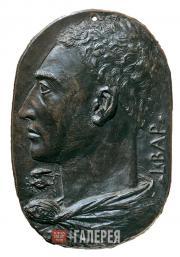 Leon Battista Alberti (1404-1472). Self-portrait, c. 1435