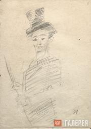 Falk Robert. Circus Tamer (Irina Bugrimova?). 1939