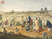 Ivan CHMUTOV. Behind the Walls in Beijing. 1855