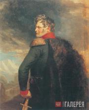 Dawe George. Portrait of Alexander Ermolov. 1825