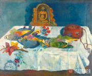 Gauguin Paul. Still-life with Parrots. 1902