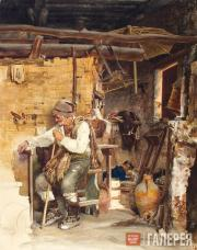 К.Ф.ГУН. Французский крестьянин. 1870