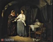 Шильдер Николай Густавович. Искушение. 1857