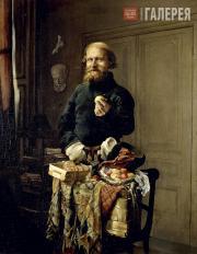 Якоби Валерий. Разносчик. 1858