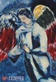Chagall Marc. Angel with Palette. 1927–1936