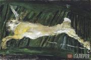 Soutine Chaim. Hare on the Green Board. Circa 1924-1925