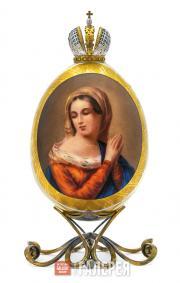 Яйцо пасхальное «Дева Мария»
