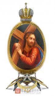 Яйцо пасхальное «Несение креста»