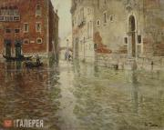 Thaulow Fritz. A Corner of Venice. 1st half of the 1890s
