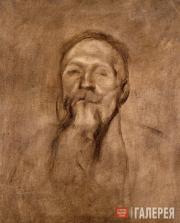 Carrière Eugène. Portrait of Auguste Rodin. 1896