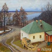 Germashev Mikhail. Little House by the River