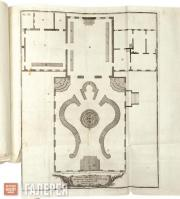 Unknown engraver. No 40. The Outline of the Court Hall of the Annehof Palace. 17