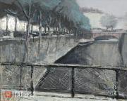 "Ikonnikov Dmitry. Pont au Change (""Exchange Bridge""). 2009"