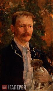 SOLOMON JOSEPH SOLOMON. Jerome Klapka Jerome. c. 1889