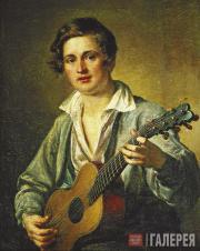 Tropinin Vasily. The Guitar Player. 1832