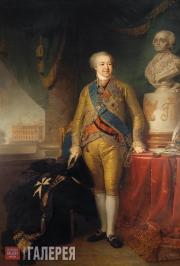 Vladimir  Borovikovsky. Portrait of Prince Alexander Borisovich Kurakin. 1801-18