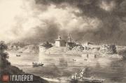 Aivazovskiy Ivan. View of Staraya Ladoga. 1835