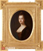 Unknown artist. Portrait of Empress Catherine II. c.1762