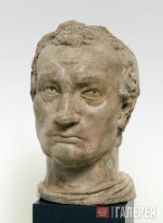 Донателло. Модель головы Гаттамелаты. Oк. 1447
