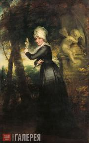Beechey R.A. William. Sarah Siddons. 1793