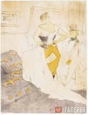 Toulouse-Lautrec Henri. Woman in a Corset (Conquête de Passage). 1896